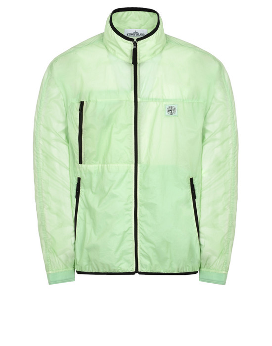 LIGHTWEIGHT JACKET 41631 LAMY VELOUR_PACKABLE  STONE ISLAND - 0
