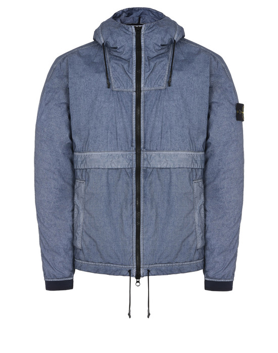 STONE ISLAND LIGHTWEIGHT JACKET 44435 RESIN POPLIN-TC