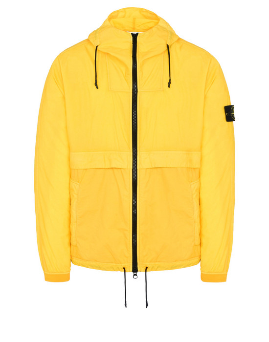 LIGHTWEIGHT JACKET 44435 RESIN POPLIN-TC  STONE ISLAND - 0