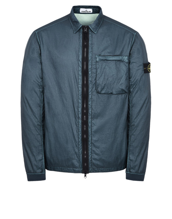 STONE ISLAND LIGHTWEIGHT JACKET 43611 LUCID WITH JERSEY LINING