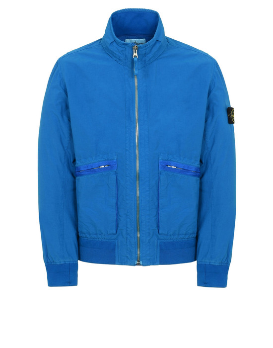 STONE ISLAND VESTE LÉGÈRE 43330 LIGHT COTTON NYLON TWILL