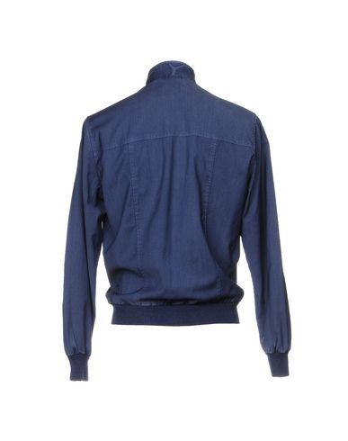 Фото 2 - Мужскую куртку MYTHS темно-синего цвета