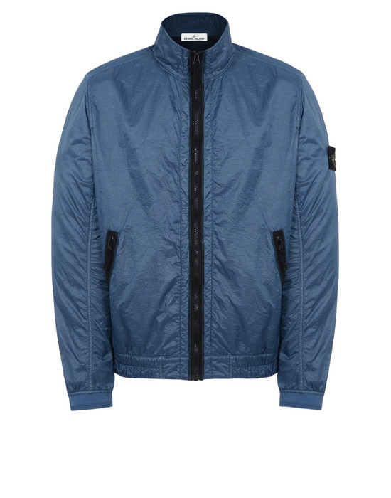 LIGHTWEIGHT JACKET 43411 LUCID WITH JERSEY LINING  STONE ISLAND - 0