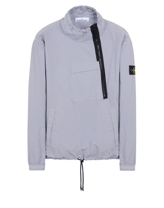 STONE ISLAND LIGHTWEIGHT JACKET 44030 LIGHT COTTON NYLON TWILL