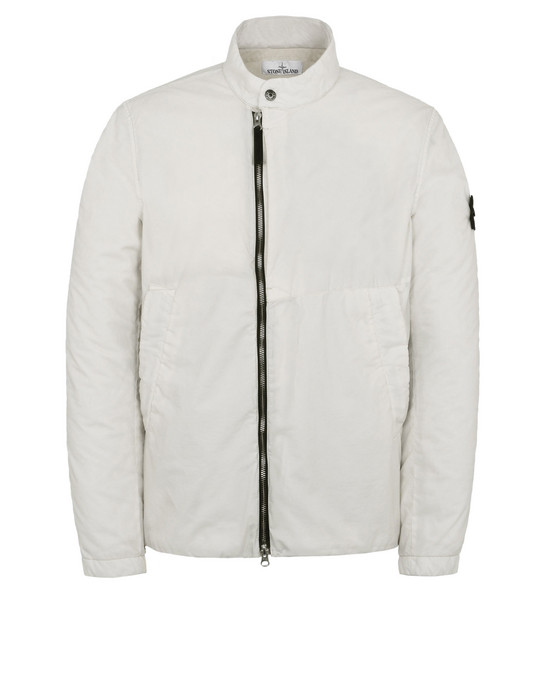 LIGHTWEIGHT JACKET 43735 RESIN POPLIN-TC  STONE ISLAND - 0