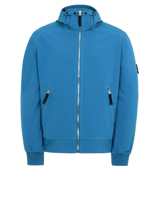 LIGHTWEIGHT JACKET 40827 LIGHT SOFT SHELL-R  STONE ISLAND - 0