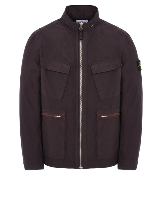 Jacket 43230 LIGHT COTTON NYLON TWILL  STONE ISLAND - 0