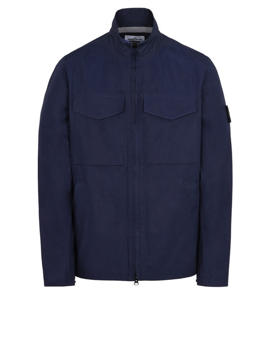 STONE ISLAND LIGHTWEIGHT JACKET 44325 WATER REPELLENT SUPIMA COTTON