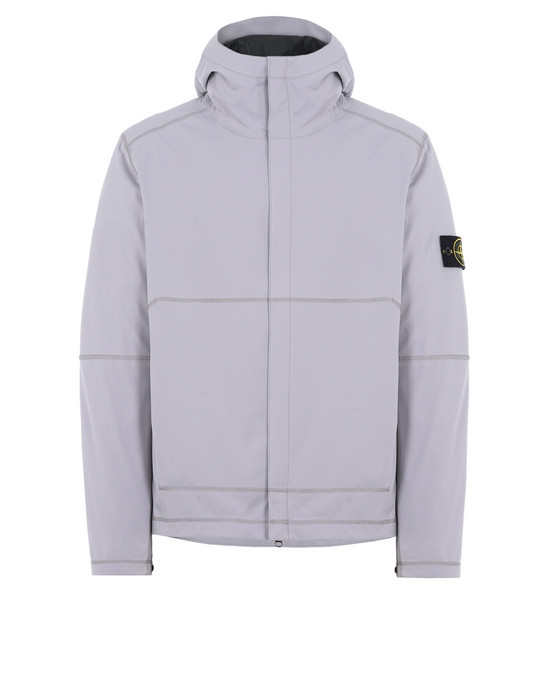 LIGHTWEIGHT JACKET 42426 LIGHT SOFT SHELL SI CHECK GRID STONE ISLAND - 0