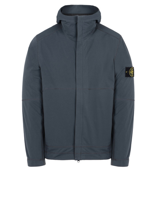 STONE ISLAND LIGHTWEIGHT JACKET 42426 LIGHT SOFT SHELL SI CHECK GRID