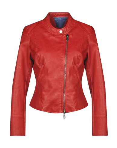 Фото - Женскую куртку FREEDOMDAY красного цвета