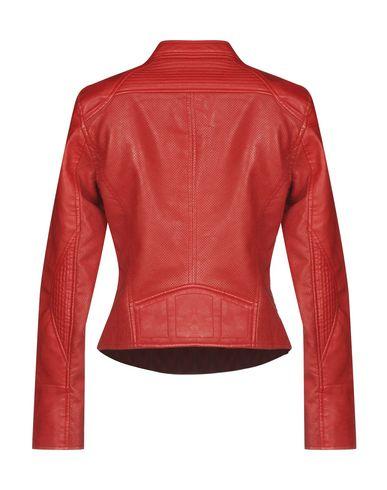 Фото 2 - Женскую куртку FREEDOMDAY красного цвета