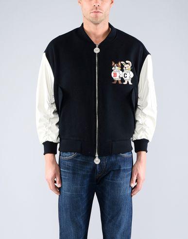 Фото 2 - Мужскую куртку BEYOND CLOSET x YOOX темно-синего цвета