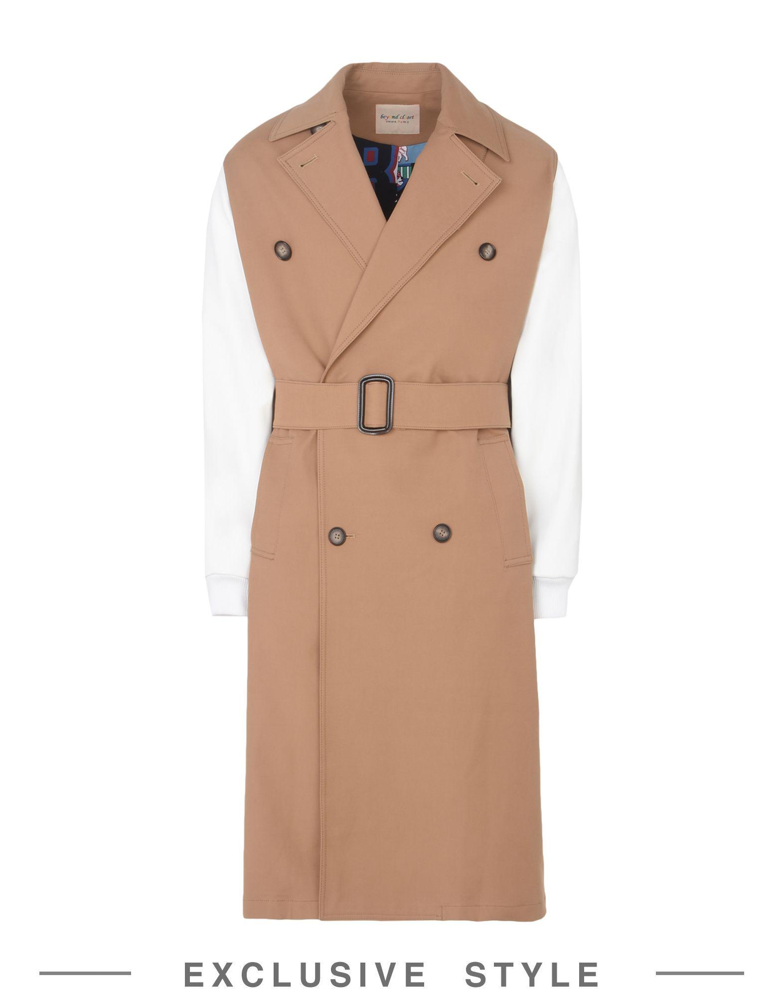BEYOND CLOSET x YOOX Легкое пальто margherita exclusively for yoox пижама