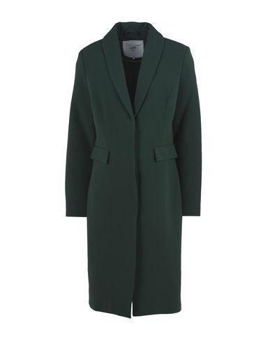 Фото - Женское пальто или плащ  зеленого цвета