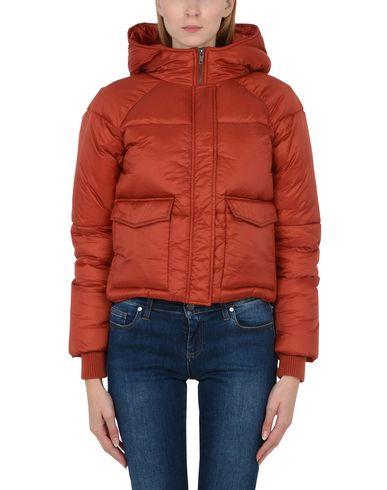 Фото 2 - Женскую куртку  кирпично-красного цвета