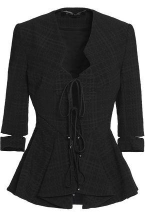 ROLAND MOURET Cutout cloqué jacket