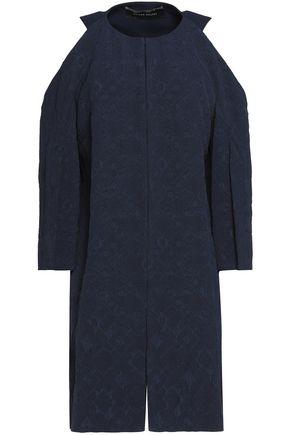 ROLAND MOURET Cold-shoulder jacquard jacket