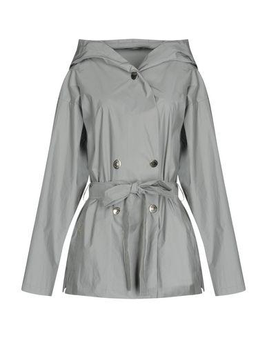Фото - Легкое пальто от OBLIQUE CREATIONS светло-серого цвета