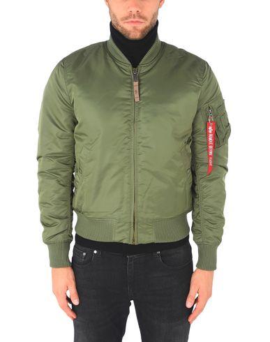 Фото 2 - Мужскую куртку ALPHA INDUSTRIES INC. цвет зеленый-милитари