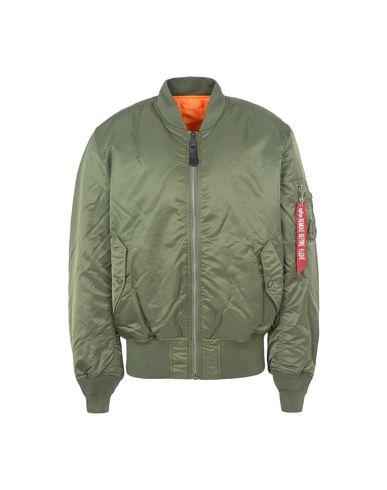 Фото - Мужскую куртку ALPHA INDUSTRIES INC. цвет зеленый-милитари