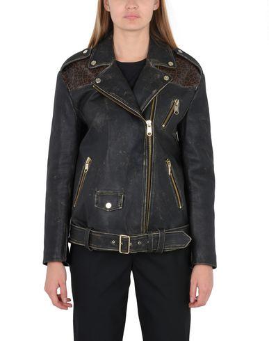 Фото 2 - Женскую куртку TOMMY HILFIGER x GIGI HADID черного цвета
