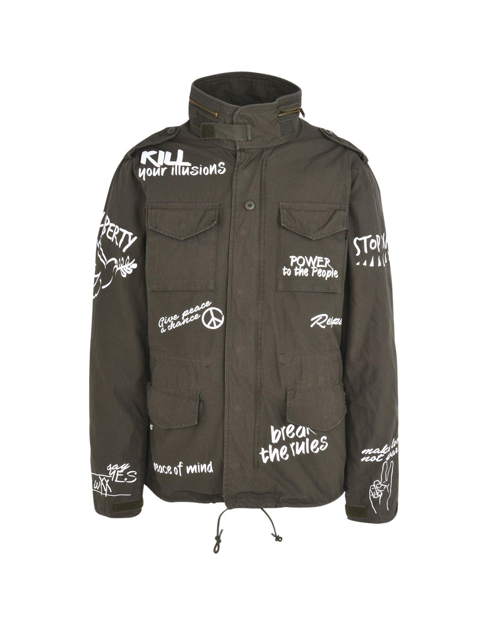 ALPHA INDUSTRIES Куртка одежда alpha industries
