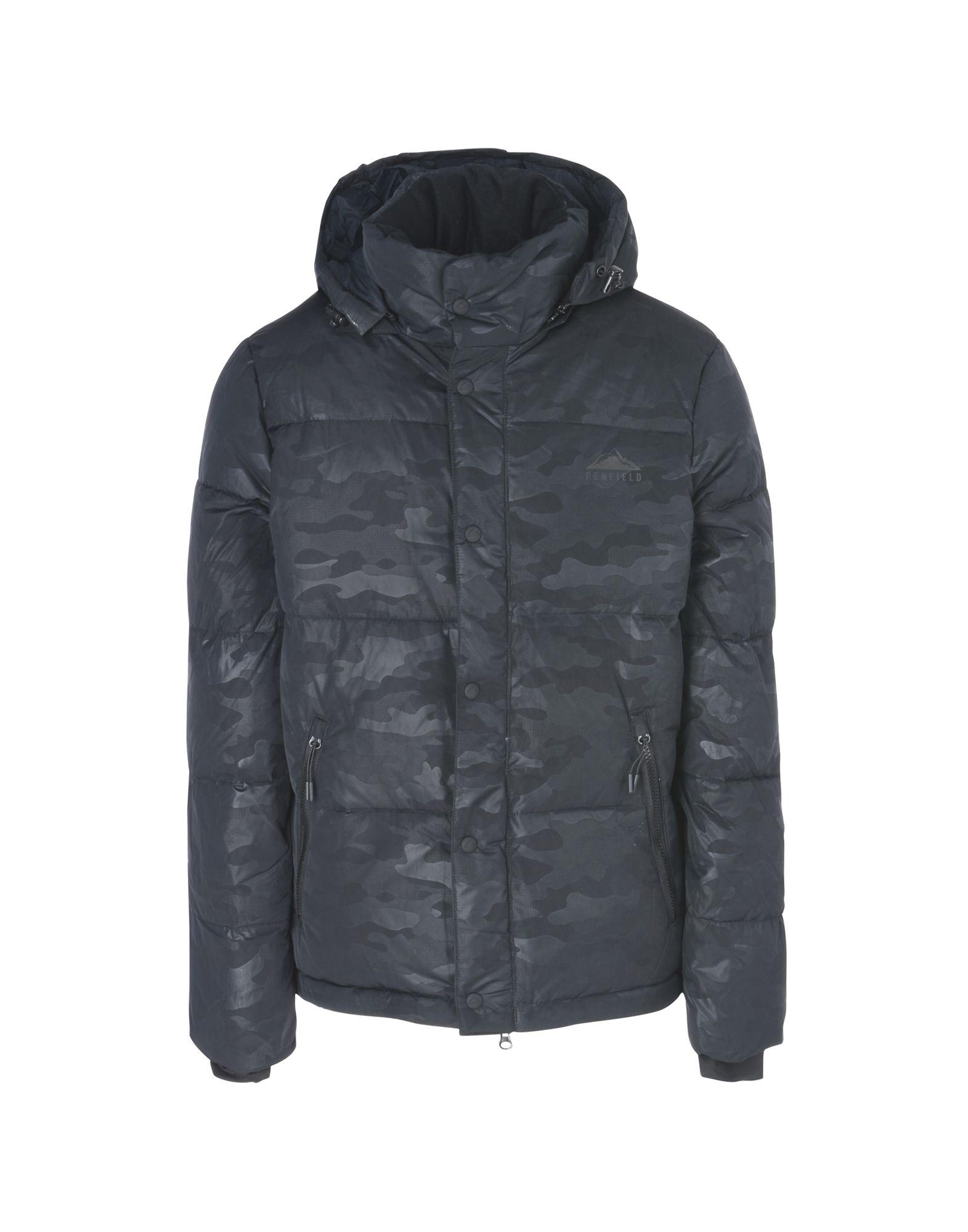 PENFIELD Пуховик пуховик penfield rockwool leather yoke down jacke navy