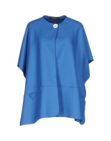 Фото - Женское пальто или плащ  синего цвета