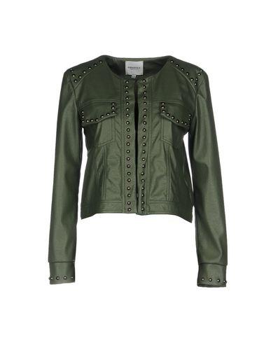 Фото - Женский пиджак ANNARITA N TWENTY 4H цвет зеленый-милитари