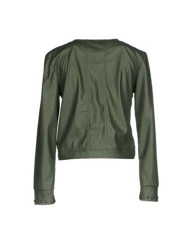 Фото 2 - Женский пиджак ANNARITA N TWENTY 4H цвет зеленый-милитари