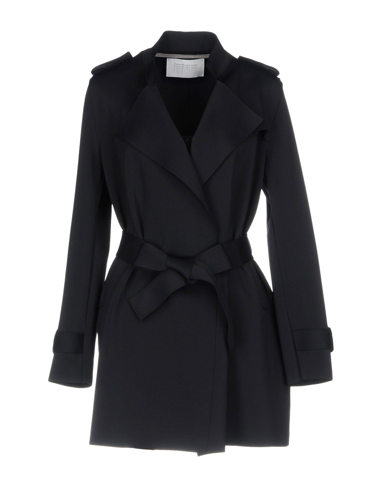 HARRIS WHARF LONDON Легкое пальто harris t black sunday