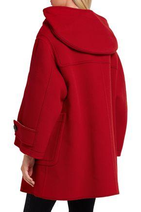 BURBERRY Oversized wool-blend duffle coat