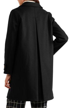 A.P.C. Dinard wool-blend felt trench coat