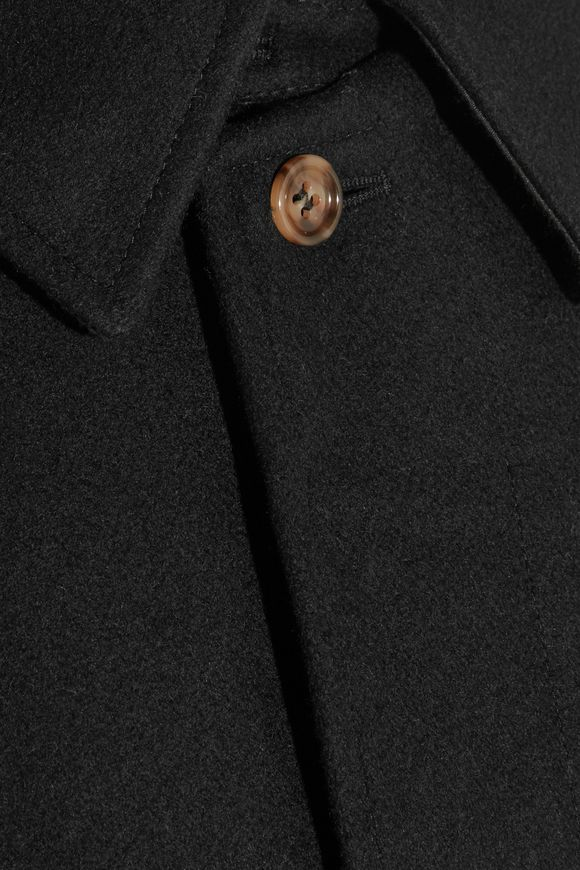 Dinard wool-blend felt trench coat | A.P.C. | Sale up to 70% off | THE  OUTNET
