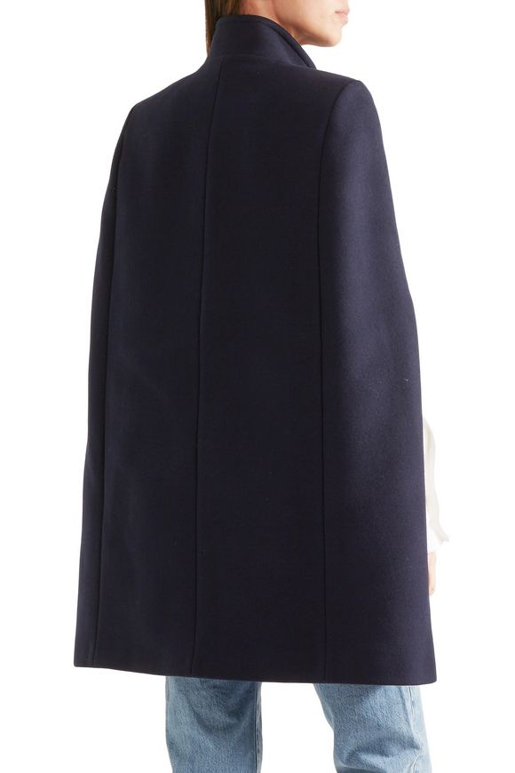 Anouk wool-blend cape   STELLA McCARTNEY   Sale up to 70% off   THE OUTNET