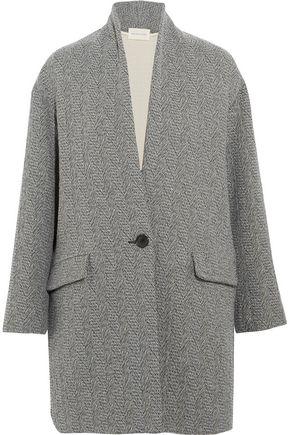 ISABEL MARANT ÉTOILE Edilon woven coat