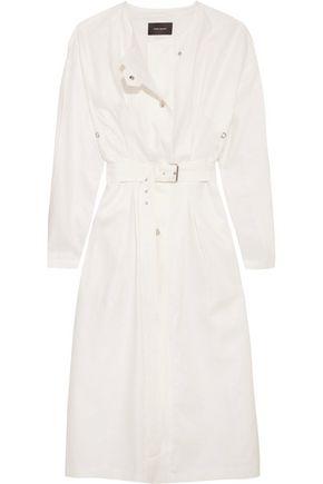 ISABEL MARANT Belted linen jacket