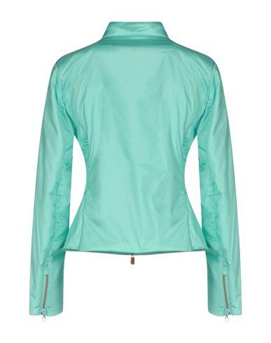 Фото 2 - Женскую куртку SAVE THE DUCK бирюзового цвета