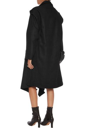 VIVIENNE WESTWOOD ANGLOMANIA Ethnic draped wool-blend coat