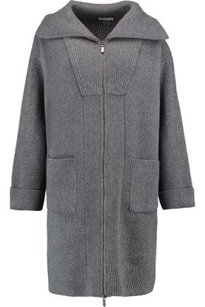 DUFFY Wool and cashmere-blend cardigan