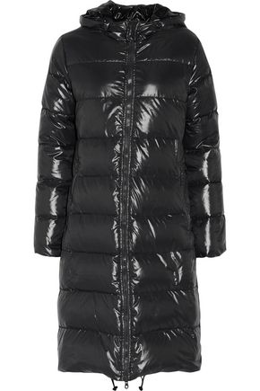 WOMAN ALIA QUILTED SHELL COAT ANTHRACITE
