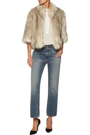 JOIE Mansi faux fur coat