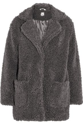 IRIS AND INK Tabitha faux fur coat