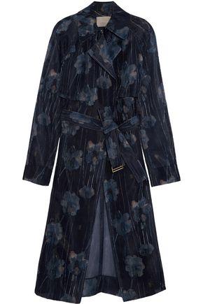 JASON WU Printed mesh trench coat