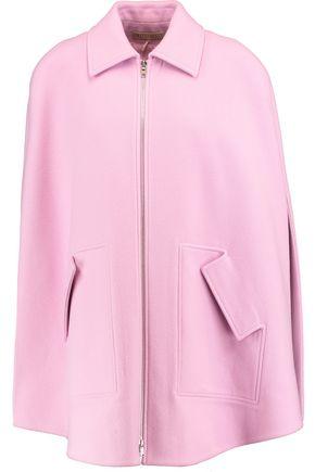 EMILIO PUCCI Wool and cashmere-blend cape
