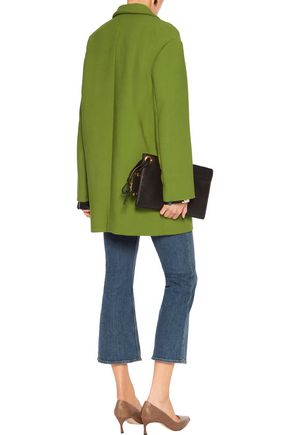 MARNI Wool-crepe coat