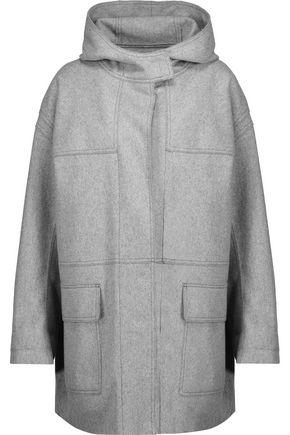 ISABEL MARANT ÉTOILE Elton wool-blend felt hooded coat