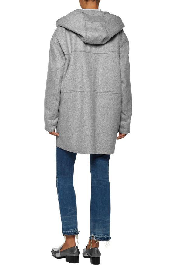 Elton wool-blend felt hooded coat | ISABEL MARANT ÉTOILE | Sale up to 70%  off | THE OUTNET