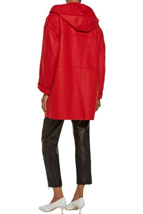 ISABEL MARANT ÉTOILE Elton wool-blend felt hooded coat